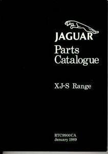 Jaguar-Xjs-Parts-Catalog-Manual-1987-88-89-90-91-92-6-Cyl-12-Cyl-Factory-Book