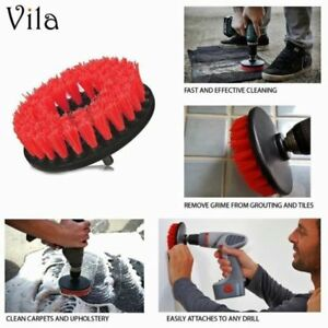 TOUGH Drill Turbo Brush Patio Tile Bathroom Grout Brick Wall Cleaner Cleaning 5060394508921