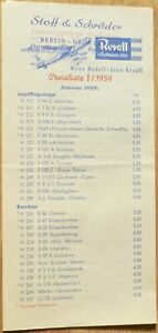 Revell-Price-List-I-1959-February-1959-A-LG2