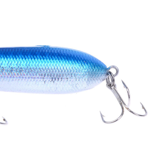 Fishing Lures Topwater Pencil Popper Casting Trolling Fish Crankbaits tackle CZ