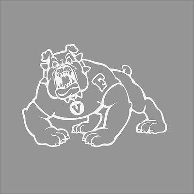 Fresno State Bulldogs #3 College Logo 1C Vinyl Decal Sticker Car Window Wall