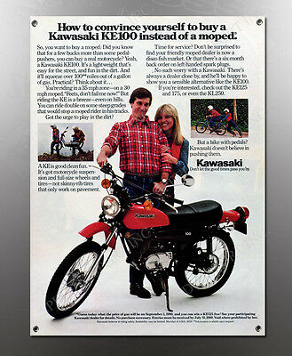 VINTAGE HONDA 1980 MOPED IMAGE BANNER NOS IMAGE REPRODUCTION