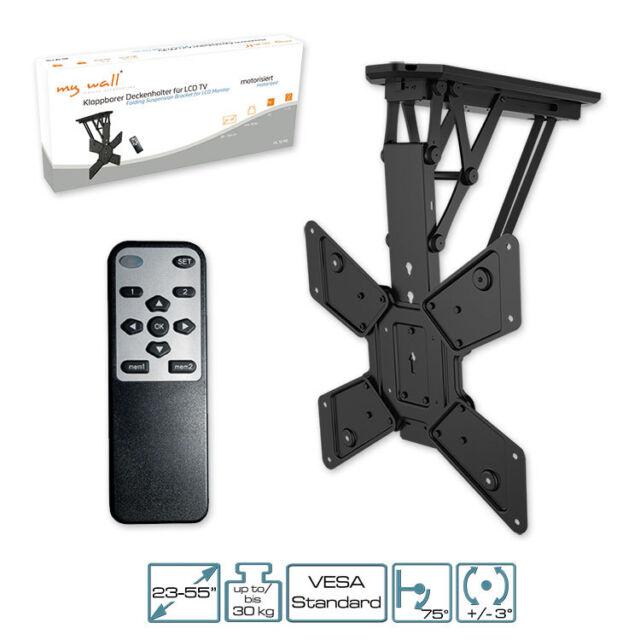 brateck support tv plafond motoris ebay. Black Bedroom Furniture Sets. Home Design Ideas