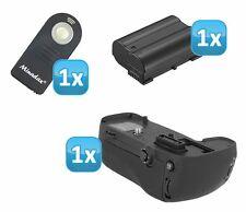 Profi Batteriegriff f. Nikon D7100 ersetzt MB-D15 + EN-EL15 Akku + IR-Auslöser
