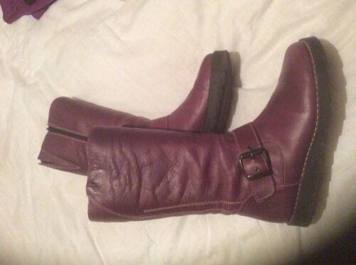 Oxygen Boot Size Down Stitch Purple 7 Calf Mid IrqrOnaP