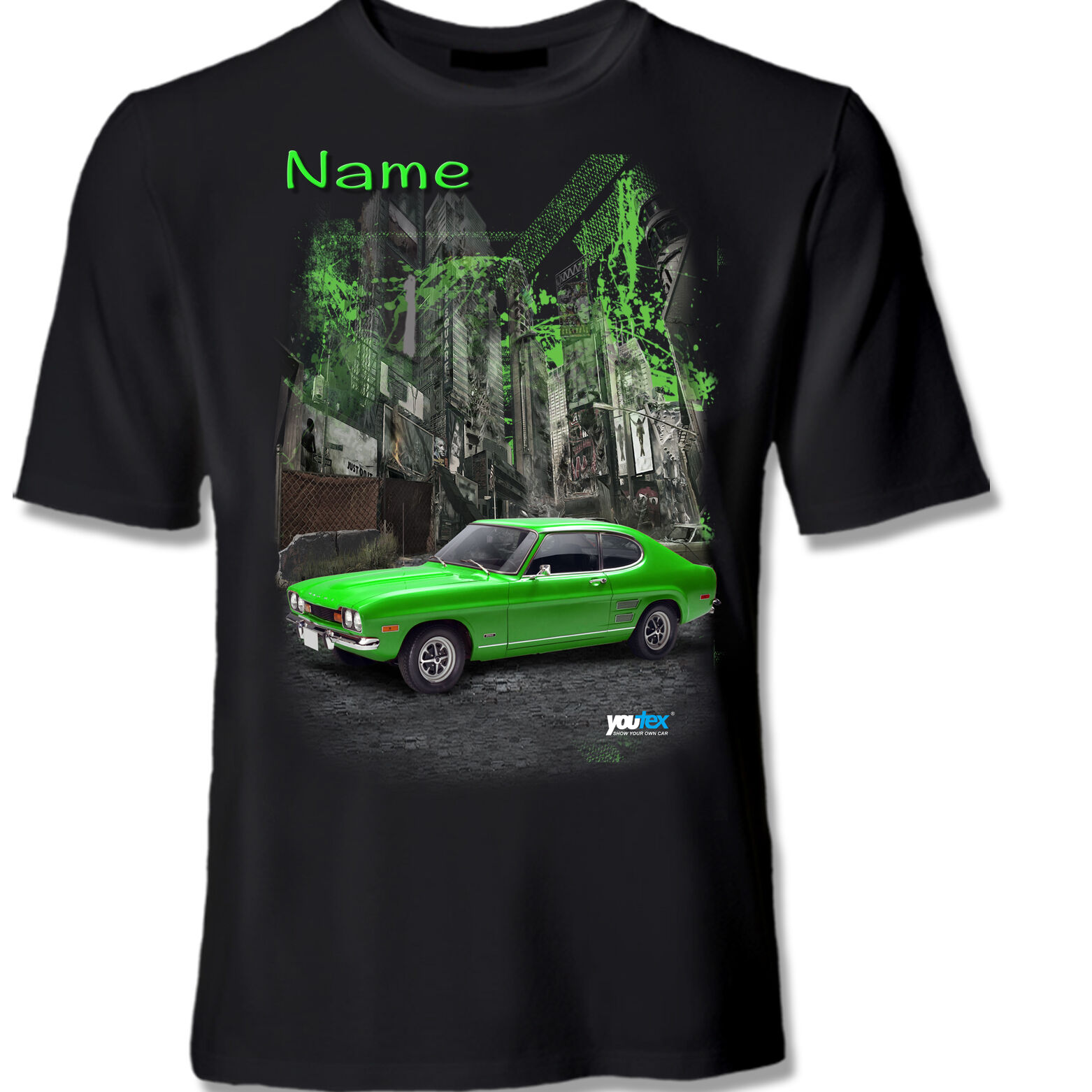 FORD CAPRI Tuning T Shirt Shirt T-Shirt original YOUTEX