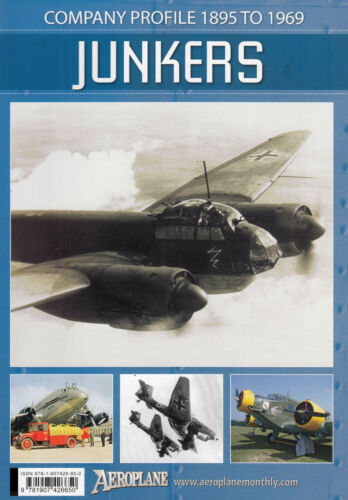 TOPP HEFT 1895-1969 JUNKERS Company Profile 20143// KEY