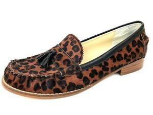 Dolce Vita Leopard Leather Tassel