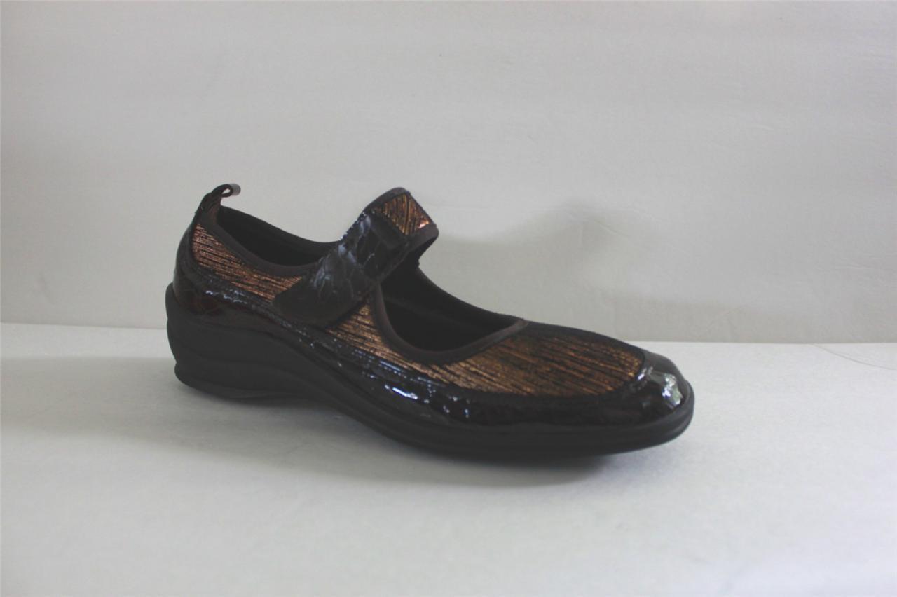 Zapatos De Cuero Helle Comfort para mujeres Sandalias Marrón Indy Deslizante