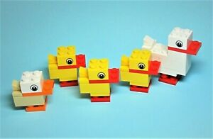 NEW-LEGO-Duck-with-Ducklings-Set-40030-Holiday-Easter-Animal-Parts-CUTE-READ
