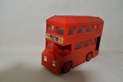 Ersatz Aufkleber//Sticker Set für LEGO Set 384 London Bus 1973 Replacement Decal