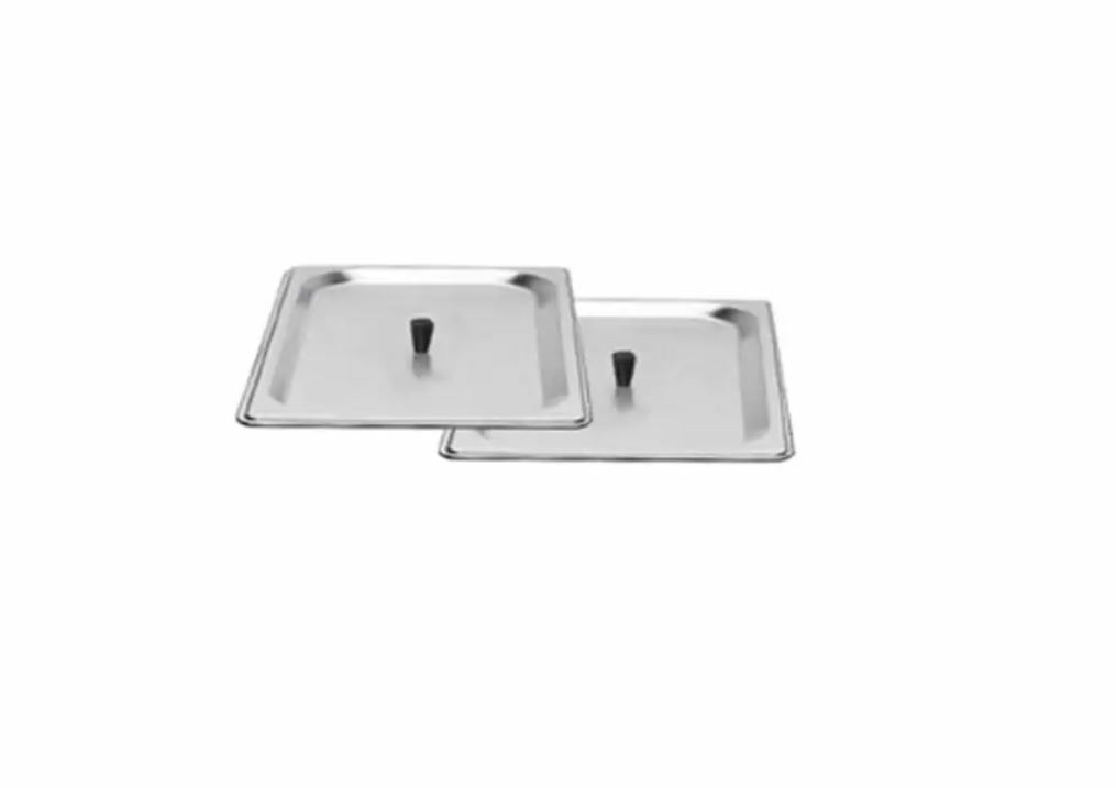 BroilKing SL-2 Two 1 2 Size Stainless Steel Lids