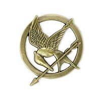 NEW The Hunger Games Movie Mockingjay Prop Rep Pin FREE SHIPPING