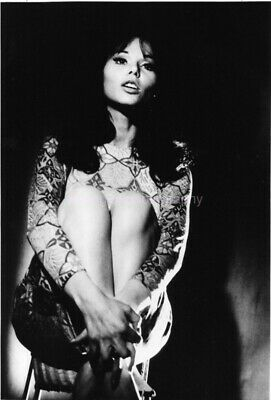 LAYA RAKI Dancer GERMAN FILM ACTRESS bw 8x10 FOUND  PHOTOGRAPH Portrait 98 28 C
