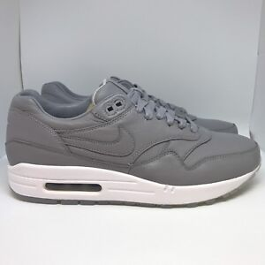 sale retailer 2488a 8fcdd Image is loading NikeLab-Nike-Air-Max-1-Deluxe-Wolf-Grey-