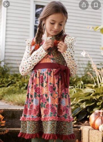 Girls Matilda Jane Choose your own path  Autumn Medley Top size 6 NWT Pumpkin