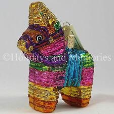 Burro Donkey Pinata Ornament by Merck Old World Christmas 44025
