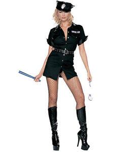 Leg-Avenue-Adult-Fancy-Dress-Fantasy-Cute-Cop-Police-Woman-Costume-8856