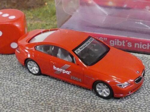 1//87 Herpa BMW 6er Herpa AIA 2004