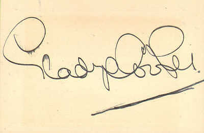 1930s autograph from
