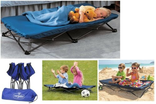 Cot Portable Toddler Bed, Durable For Camping, Sleepovers, Daycare, Or Traveling