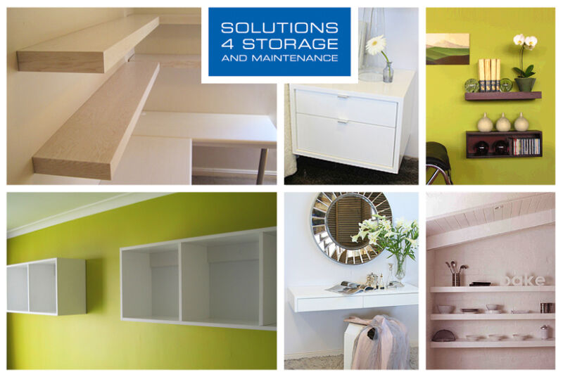Floating Shelves, Boxes and TV Units