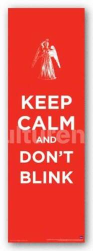 SCIENCE FICTION POSTER Doctor Who Keep Calm and Don/'t Blink
