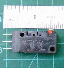 D2HW-C201M Microswitch without lever SPDT 0.1A//125VAC 2A//12VDC ON-ON OMRON