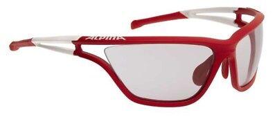 Alpina Occhiali Sportivi Alpina Eye-5 Varioflex + Rosso Bianco-