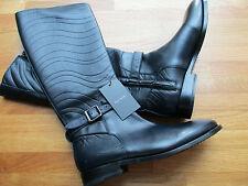 Paul Smith Swirl Leather Boots UK6 EU39 SLIM FITTING - SWIRL NAVY BLUE