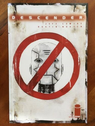 Descender #1 A /& #2 Image Comics 2015 Jeff Lemire Dustin Nguyen First Printing