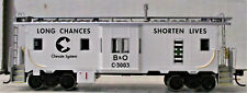 Athearn RTR 74676 Bay Window Caboose Chessie C3003 HO Scale