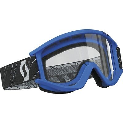 SCOTT MASCHERA CROSS RECOIL OCCHIALI OCCHIALE SCOTT BLU