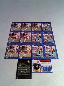 Ray-Macoritti-Lot-of-22-cards-3-DIFFERENT-Football-CFL