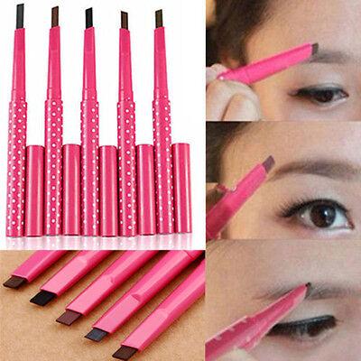 1PC Waterproof Brown Eyebrow Pencil Eye Brow Liner Powder Shaper Makeup Tool W8