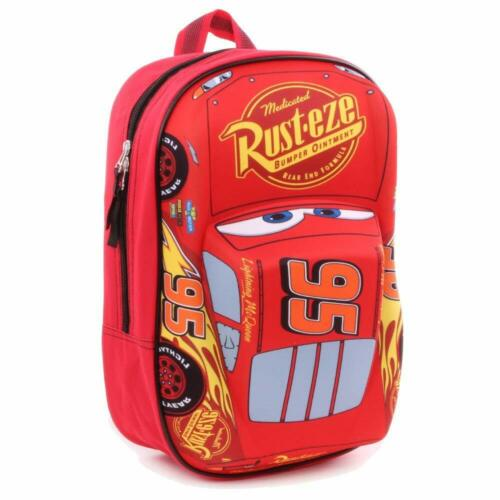 Disney Cars Lightning McQueen Piston Cup Champion 3D Kinder Rucksack 31 cm bag