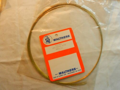 # 24  BRASS WIRE 20 FT PKG    # 945-020 WALTHERS