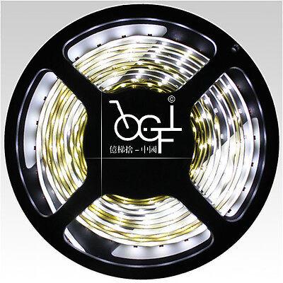 5M White Non-Waterproof 300 LED Strip Light 3528 SMD String Ribbon Tape Roll 12V
