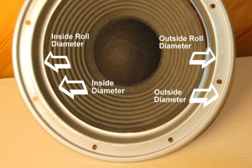 15 in Speaker FOAM SURROUNDS-BEST QUALITY spkr repair