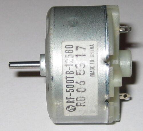 Mabuchi RF-500TB-12560 1.5 to 12 VDC Mabuchi RF-500 Motor Solar Motor