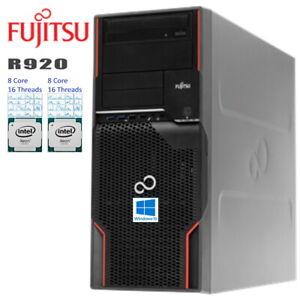 16-Core-Fujitsu-r920-2x-Xeon-e5-2670-gt-3-30ghz-64-Go-RAM-240-GO-SSD-1-To-HDD