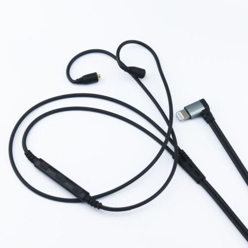 Lightning jack Cable for Westone W10 W20 W30 W40 W50 W60 to iphone 7 //7plus