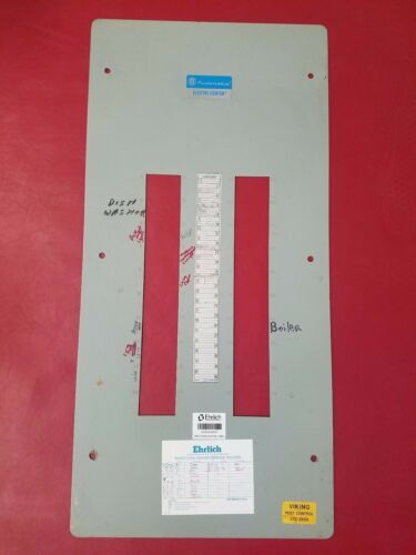 Used Pushmatic Panel Cover Electri-Center 40 Space 200 amp Panel Cover PM36