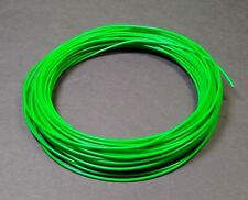 Mil Spec 20awg Ptfe Green Stranded Silver Plated Wire 15 Mm Diam 40 Foot Roll