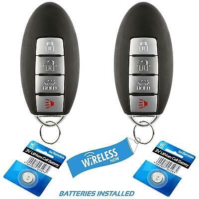 2 Car Key Fob Keyless Entry Remote 3Btn Navy For 2011 2012 2013 Chevy Silverado