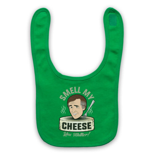 ALAN PARTRIDGE SMELL MY CHEESE YOU MOTHER COOGAN TV BABY BIB CUTE BABY GIFT