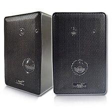 Acoustic Audio 251B 3-way 400-watt Black Indoor/ Outdoor Speakers