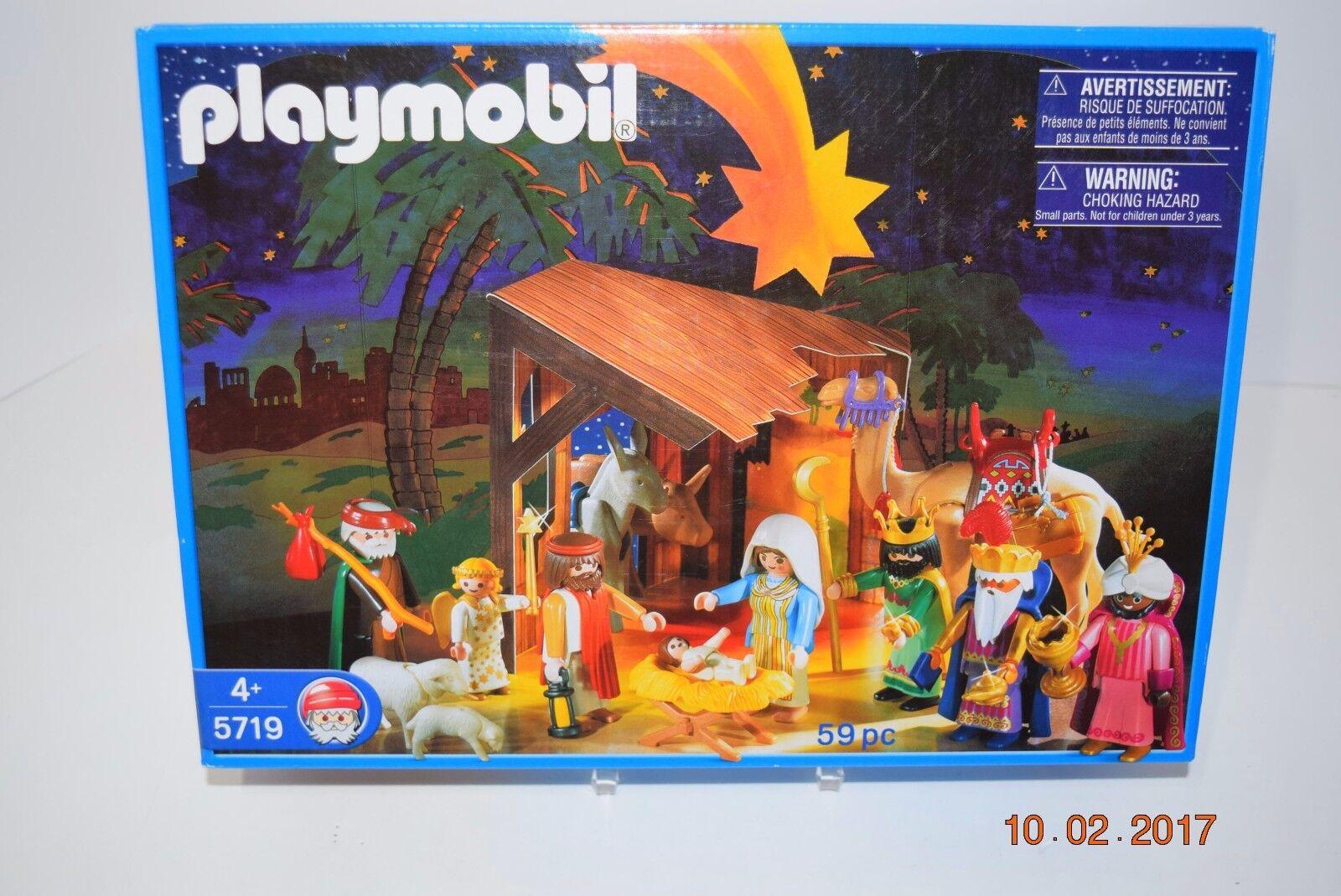 Playmobil 5719 Nativity Set, Age  4+, Boy or Girl, Retirosso, See Picts, Rare, NIB  risparmia il 60% di sconto