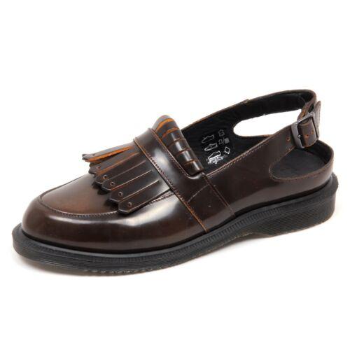 Martens Dr scatola senza D6766 Loafer Donna Scarpa Woman Brown Shoe xq4YOwX5