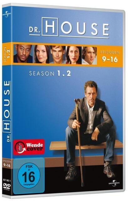 Dr. House - Season 1.2 - mit Hugh Laurie & Lisa Edelstein !! Wie Nagelneu !!